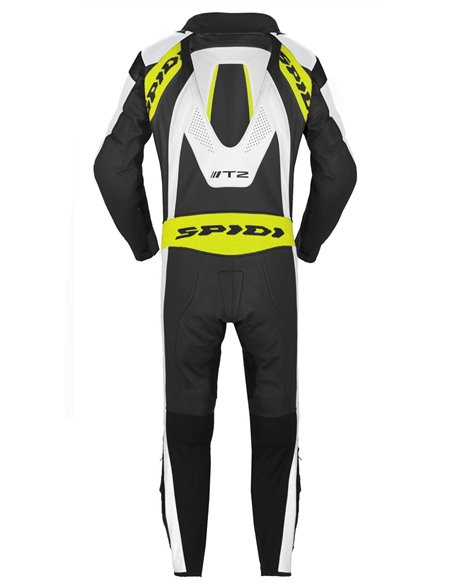 Mono de Piel Spidi T-2 Neck Dps Airbag Wind Pro