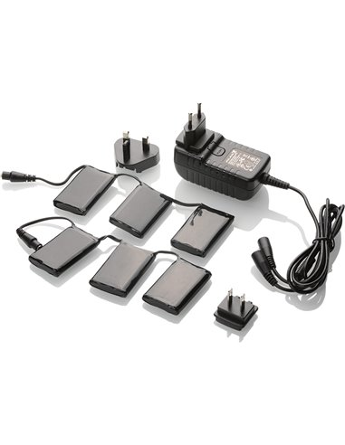 KIT Klan de Baterías 12VOLT y 3,0A ( 2 baterías + cargador)