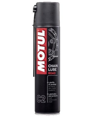 Spray Lubricante de Cadena Motul C2 Lube Road