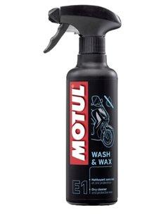 Limpiador en Seco y Cera Motul E1