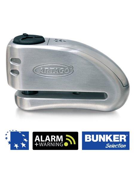 Candado de Disco Artago Bunker 32 con Alarma