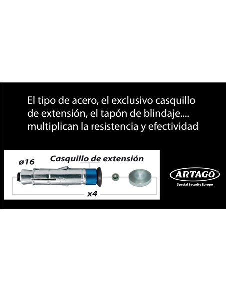 Anclaje Antirrobo para Garaje Artago 61