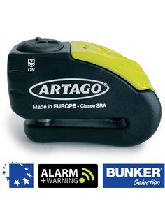 Candado de Disco Artago Bunker 30X con Alarma