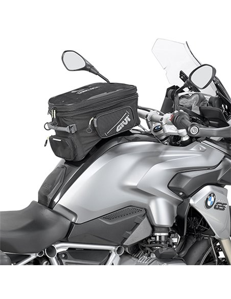 Bolsa Depósito Givi Tanklock Extensible para Moto Enduro, 25 Lts