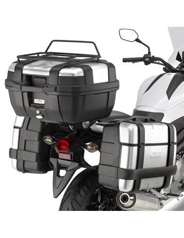 Portamaletas Lateral Givi Monokey Honda NC700S/X (12 - 13) - NC750S/X/DCT (14 - 15)