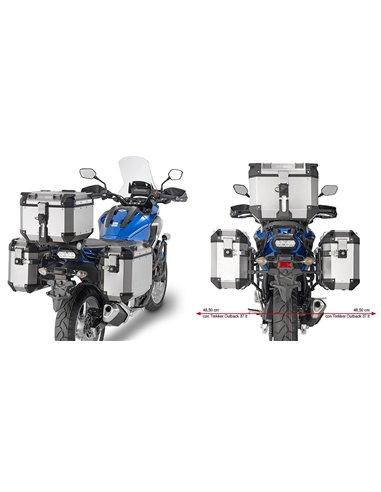 Portamaletas Lateral Givi CAM-SIDE Honda NC750S/X (16 - 18)