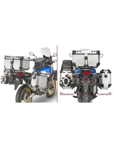 Portamaletas Lateral Givi CAM-SIDE Honda CRF1000L Africa Twin/Adventure Sports (18)