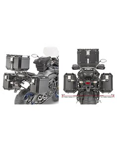 Portamaletas Lateral Givi CAM-SIDE Yamaha Tracer 900 / Tracer 900 GT (18 - 19)