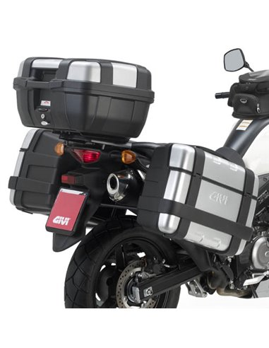 Portamaletas Lateral Givi Monokey Suzuki DL 650 V-STROM (11 - 16)