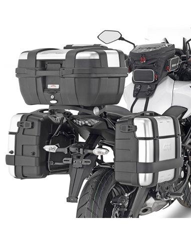 Portamaletas Lateral Givi Monokey Kawasaki Versys 650 (15 - 19)