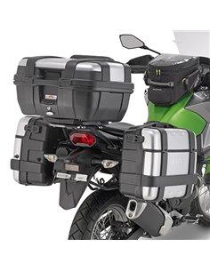 Portamaletas Lateral Givi Monokey Kawasaki Versys-X 300 (17 - 19)