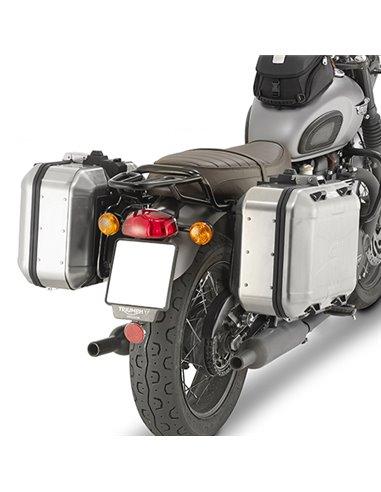 Portamaletas Lateral Givi Monokey Triumph Bonneville T120/100 (16 - 18)