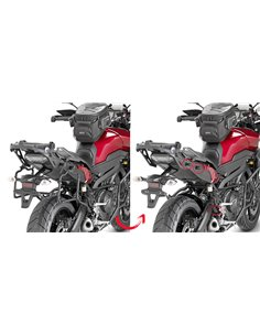 Portamaletas Lateral Givi Fijación Rápida Yamaha MT-09 Tracer (15 - 17)