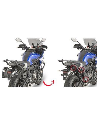 Portamaletas Lateral Givi Fijación Rápida Yamaha MT-07 Tracer (16 - 18)