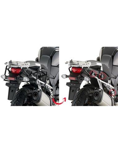 Portamaletas Lateral Givi Fijación Rápida Suzuki DL 1000 V-Strom (14 - 18)