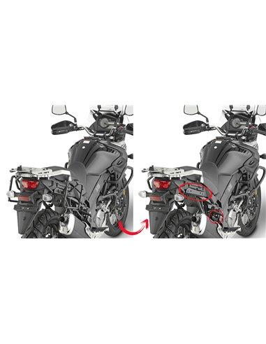 Portamaletas Lateral Givi Fijación Rápida Suzuki DL 650 V-Strom (17 - 18)