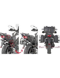 Portamaletas Lateral Givi Fijación Rápida Kawasaki Versys 1000 19