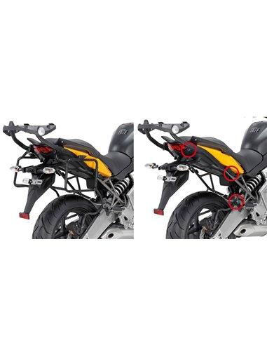 Portamaletas Lateral Givi Fijación Rápida Kawasaki Versys 650 (10 - 14)