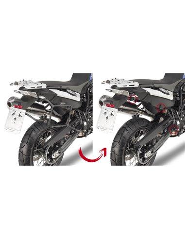 Portamaletas Lateral Givi Fijación Rápida BMW F650GS/F700GS/F800 GS (08 - 17)