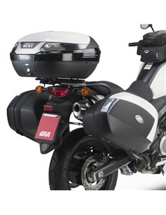 Portamaletas Lateral Givi Monokey Side Suzuki DL V-Strom 650 (11 -16)