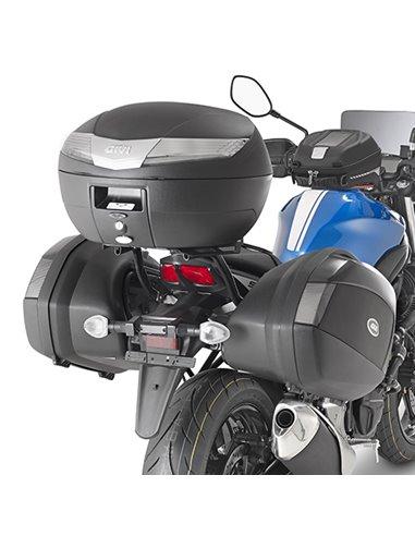 Portamaletas Lateral Givi Monokey Side Suzuki SV 650 (16 - 19)