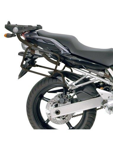 Portamaletas Lateral Givi Monokey Side Yamaha FZ6/FZ6 600 Fazer (04 - 06)