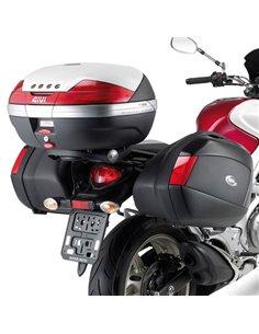 Portamaletas Lateral Givi Monokey Side Suzuki Gladius 650 (09 - 16)