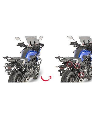 Portamaletas Lateral Givi Fijación Rápida Yamaha MT-07 Tracer (16 - 19)