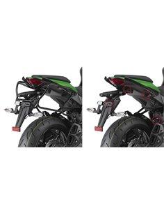 Portamaletas Lateral Givi Fijación Rápida Kawasaki Z 1000 SX (11 - 19)