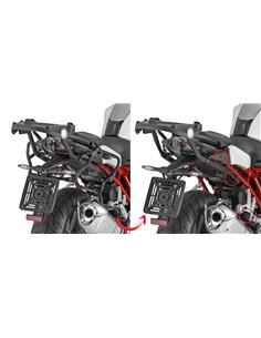 Portamaletas Lateral Givi Fijación Rápida BMW R 1200 R/RS (15 - 18) - R1250R