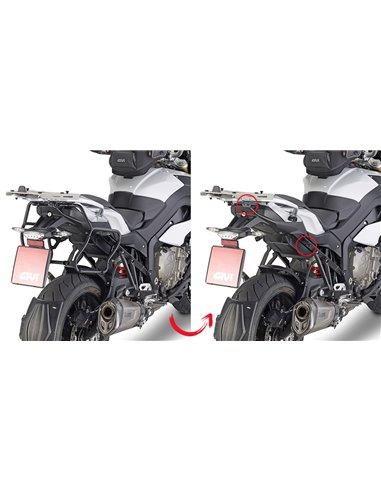 Portamaletas Lateral Givi Fijación Rápida BMW S 1000 XR (15 - 19)