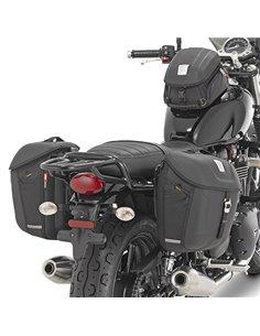 Soporte Givi Alforjas Triumph Street Twin 900/Boneville T100 (16 - 19)