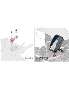 Kit Tornillería Givi Smart Mount RC S903A para Honda/Yamaha/Ducati