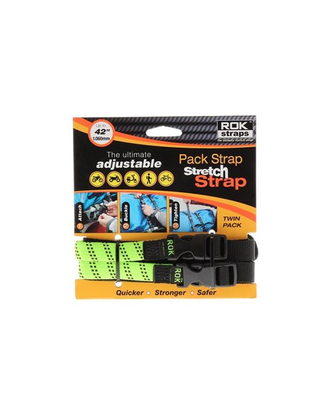 Correa para Equipaje ROK STRAP Stretch Regulable, Ancho 16mm