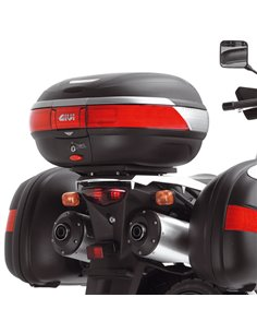Adaptador Posterior Maleta Givi MONOKEY para Suzuki V-Strom/ para Kawasaki KLV1000