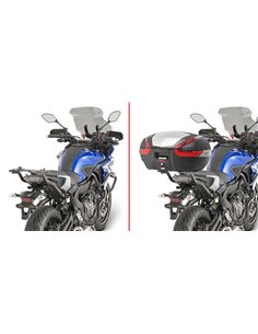 Adaptador Posterior Específico Maleta Givi para Yamaha MT-07 Tracer 16