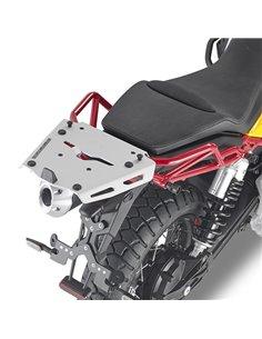 Adaptador Posterior Aluminio para maleta Givi MONOKEY Guzzi V85 TT 19