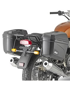 Portamaletas Lateral Givi para Royal Enfield Interceptor 650 19