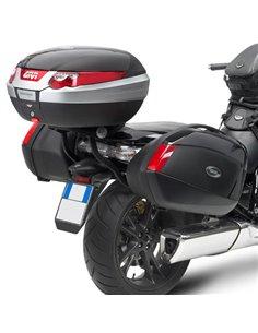 Portamaletas Lateral Givi Monokey para Honda DN-01 700 08-11