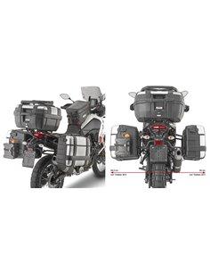 Portamaletas Lateral Givi Específico Sistema PL ONE-FIT Maletas Monokey para Yamaha Ténéré 700 -19