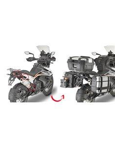 Portamaletas Lateral Givi Específico Sistema PL ONE-FIT Maletas Monokey para KTM 790 Adventure/R -19