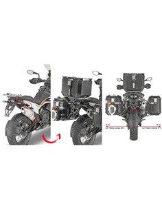 Portamaletas Lateral Givi Específico Sistema PL ONE-FIT Maletas Trekker Outback para KTM 790 Adventure/R -19