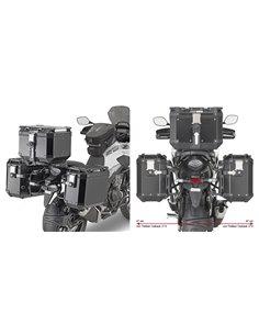 Portamaletas Lateral Givi Específico Sistema PL ONE-FIT Maletas Trekker Outback para Honda CB500X -19