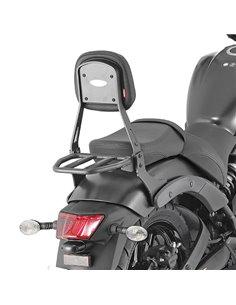 Respaldo con Portaequipajes Givi para Kawasaki Vucan S 650 15-16