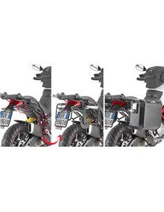 Portamaletas Lateral Givi Fijación Rápida Maletas Trekker Outback para Ducati Multistrada 950S/Enduro 1260 -19
