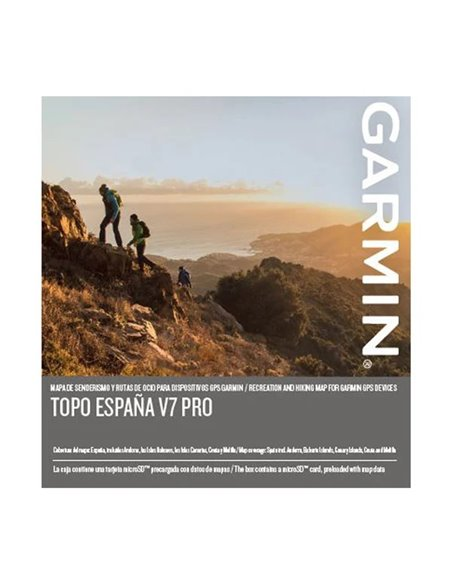 Garmin Mapa Topográfico España -Topo V7