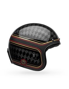 Casco Jet Bell Custom 500 Carbon RSD Checkmate