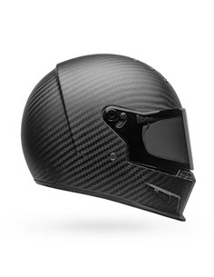 Casco Integral Bell Eliminator Carbon Solid Negro Mate
