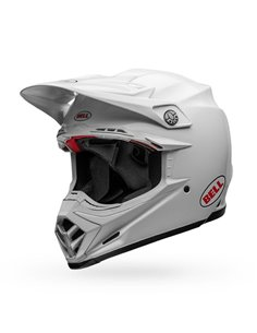 Casco Integral Bell Moto-9 Flex Carbon Blanco