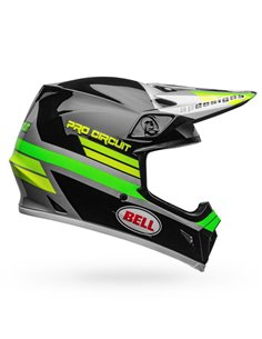 Casco Integral Bell MX-9 Mips Pro Circuit 2020